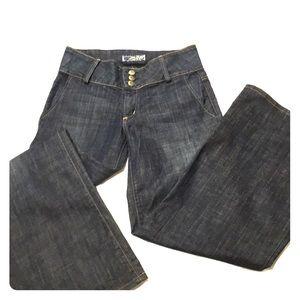 Hudson Flare & Wide Leg Jeans